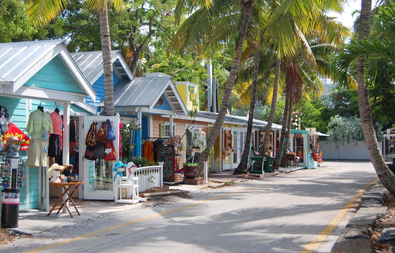 Bahama village shops in Key West
