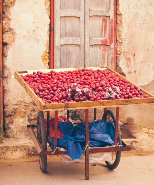 Stone Town Zanzibar fruit stand