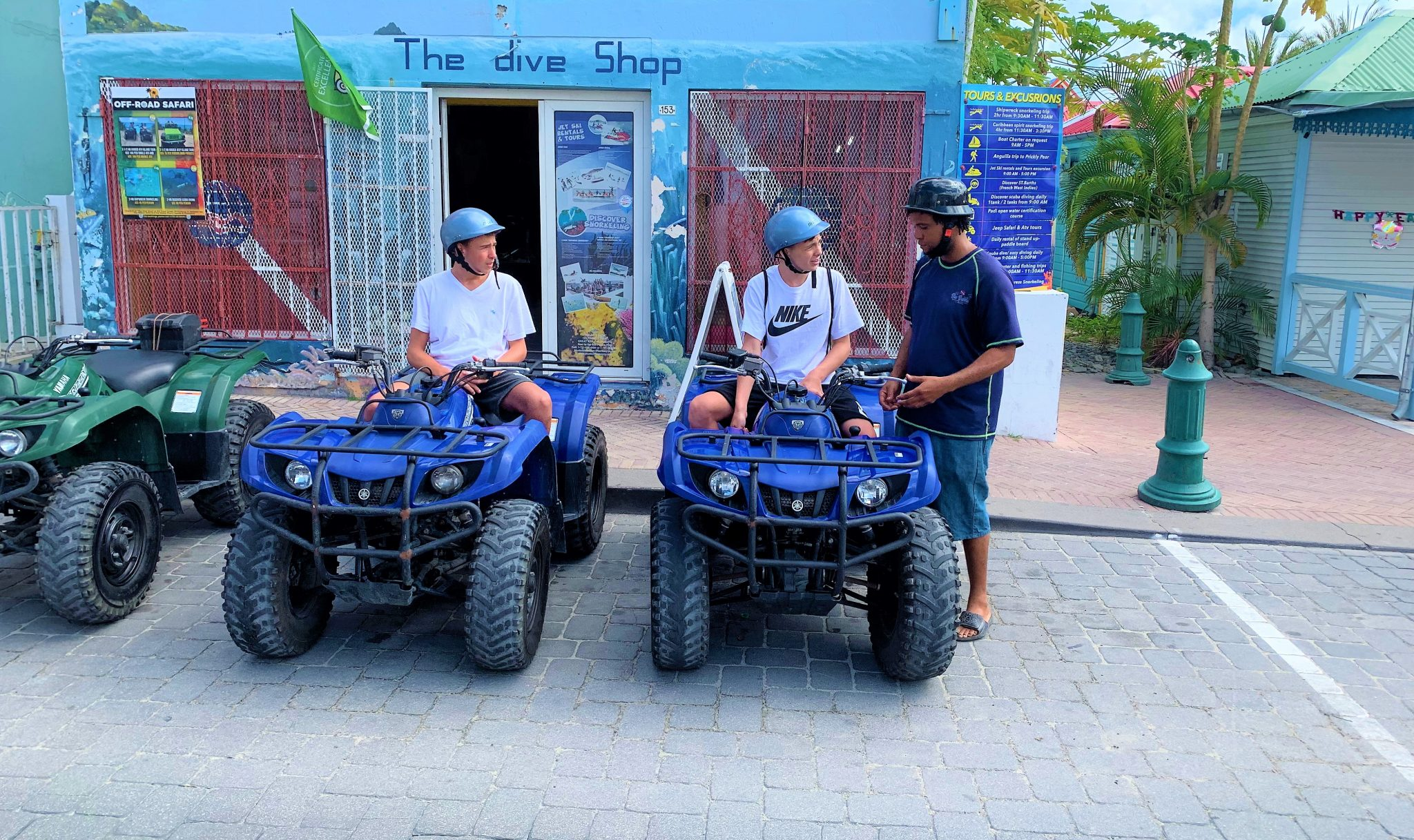 St. Maarten Safari : Guided Island Tours by ATV and Jeep Wrangler